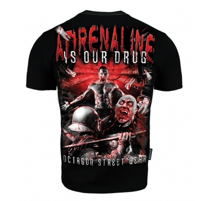 T-shirt Octagon Adrenaline is our drug