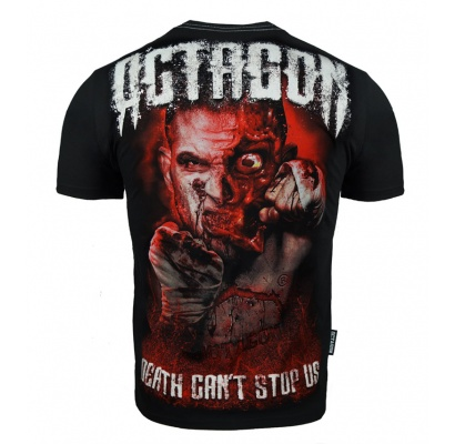T-shirt Octagon Death can\'t stop Us